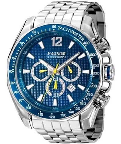 relógio magnum masculino original garantia nota ma33586f