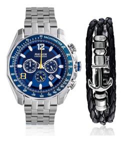 01b0f152e58 Relógio Magnum Ma33755b Frete Grátis Netclock - Relógios De Pulso no ...
