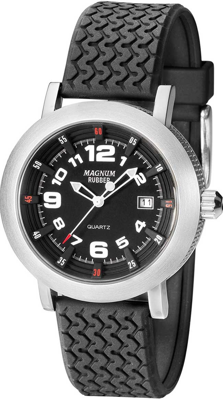 cd93c5b4677 relógio magnum masculino rubber mr30555t. Carregando zoom.