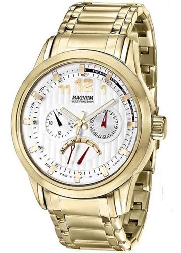 relógio magnum multifunction ma32372h