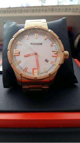 relógio magnum original-prova d'agua ma3435h
