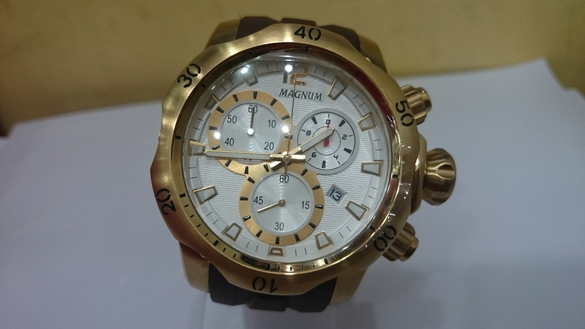 4be95d18981 relógio magnum sport cronógrafo ma33755b - estilo invicta. Carregando zoom.