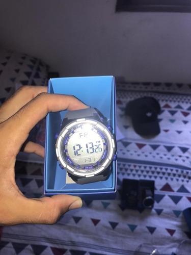 relógio marathon by timex - novo, original, na caixa, cinza
