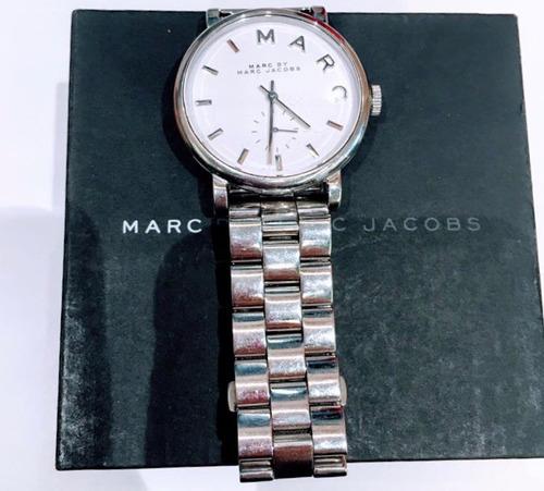 relogio marc jacobs em prata