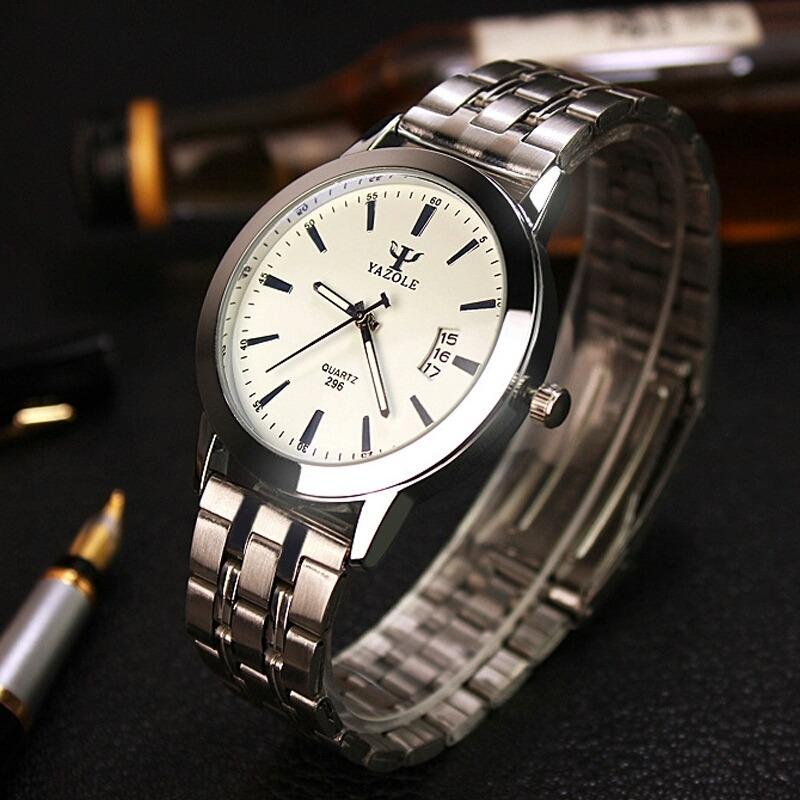 f6425fb7b4e relógio marca yazole masculino e feminino · relógio marca masculino.  Carregando zoom.