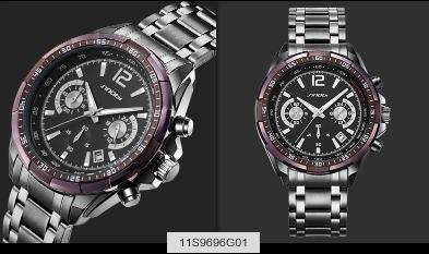 10fe7a1120e relógio sinobi marca de luxo s choque relógios homem de aço · relógio marca  relógios