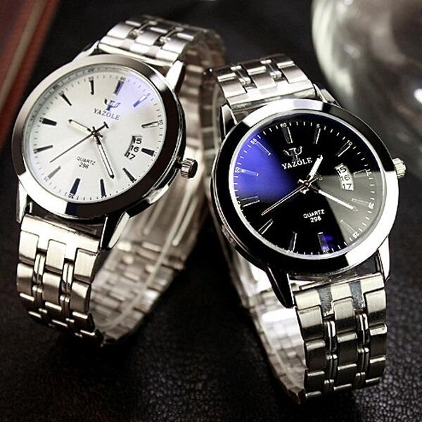 49ea3dac50c Relógio Marca Yazole Masculino E Feminino - R  45