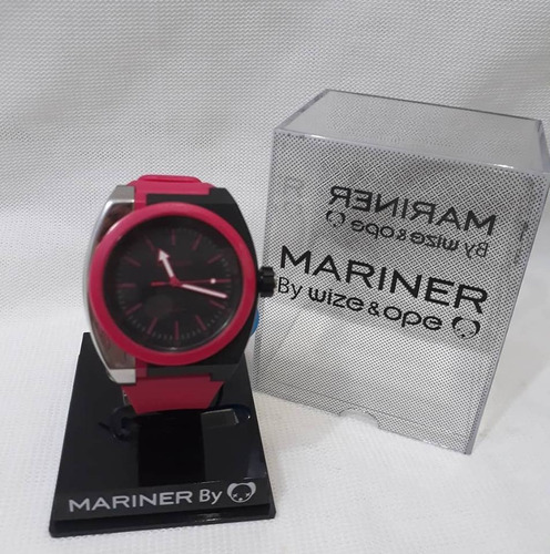 relógio mariner by wize & ope feminino