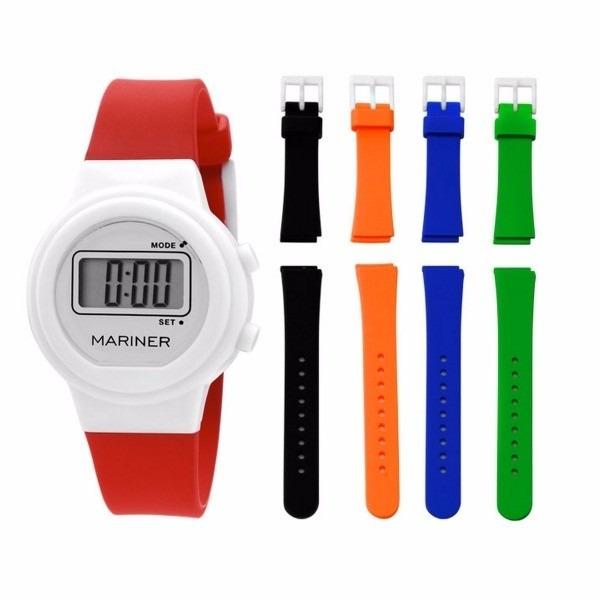 30044ba7b96 Relógio Mariner Troca Pulseira Infantil Digital - Mna5568p - R  80 ...