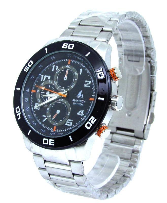 6464d9f18b6 Relógio Marinus Original Prata Masculino Modelo Novo Social - R  69 ...