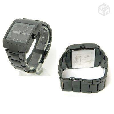 relógio  masc  armani exchange ax2202 original com  garantia