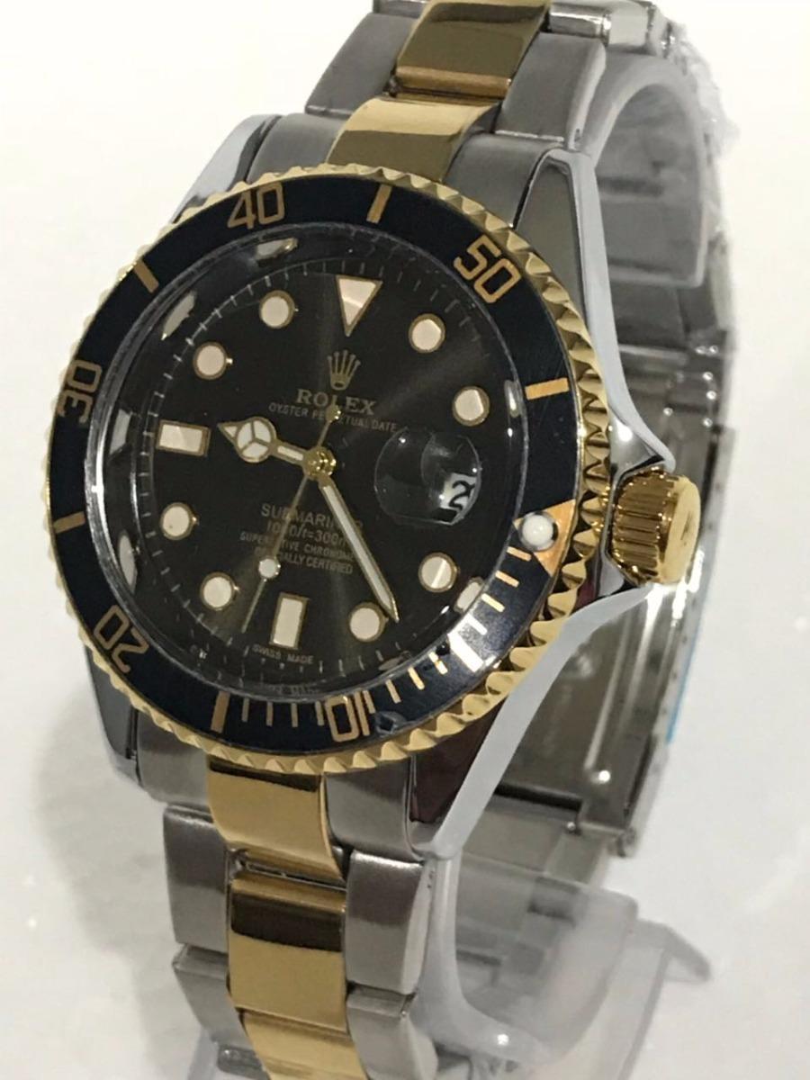 c9a4a5b3a26 relógio masculino aço de pulso rolex submariner - barato. Carregando zoom.