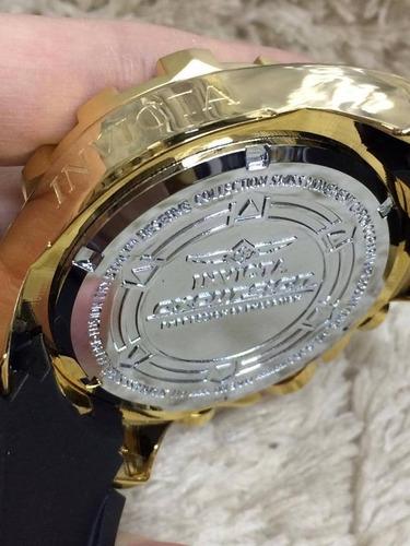 d310790c3ef Relógio Masculino Aço Dourado Pesado Grande Promoção - R  99