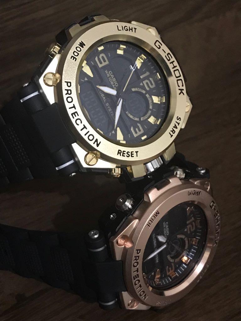 b0a05bac6fe relógio masculino aço importado analógico prova água barato. Carregando  zoom.