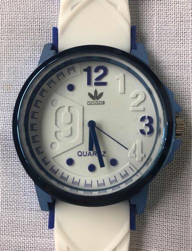 relógio masculino adidas azul e branco