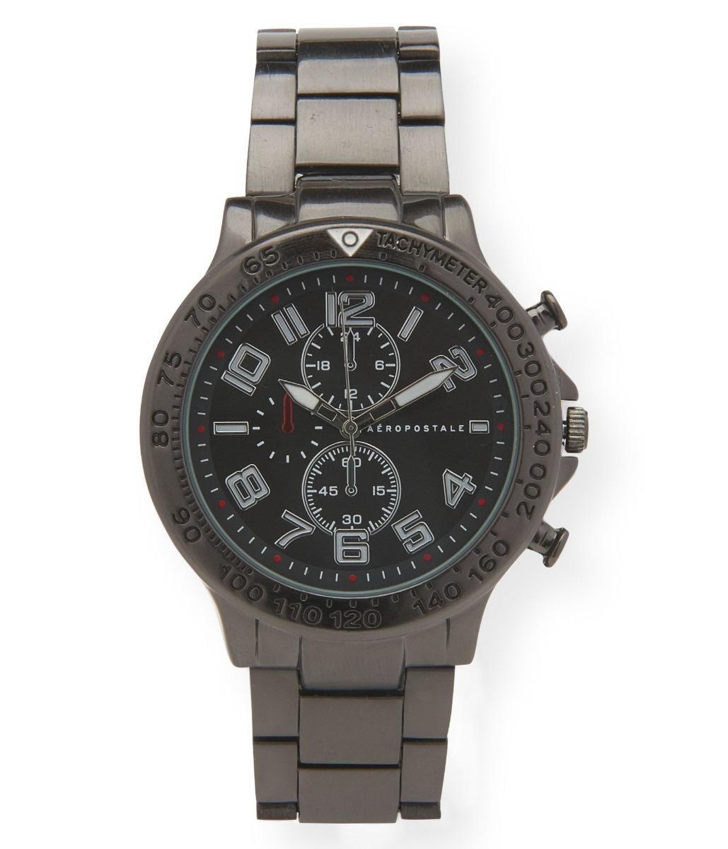 cfdb3abb432 relógio masculino aéropostale preto. Carregando zoom.
