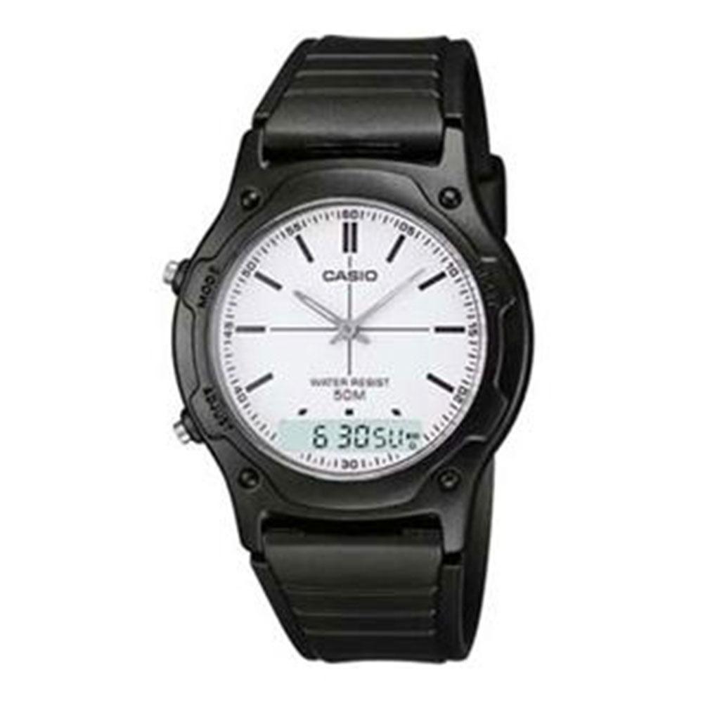 89ee0fdbac0 Relógio Masculino Anadigi Casio Aw-49h-7evud - R  202
