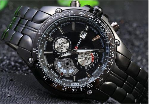 relógio masculino analógico curren
