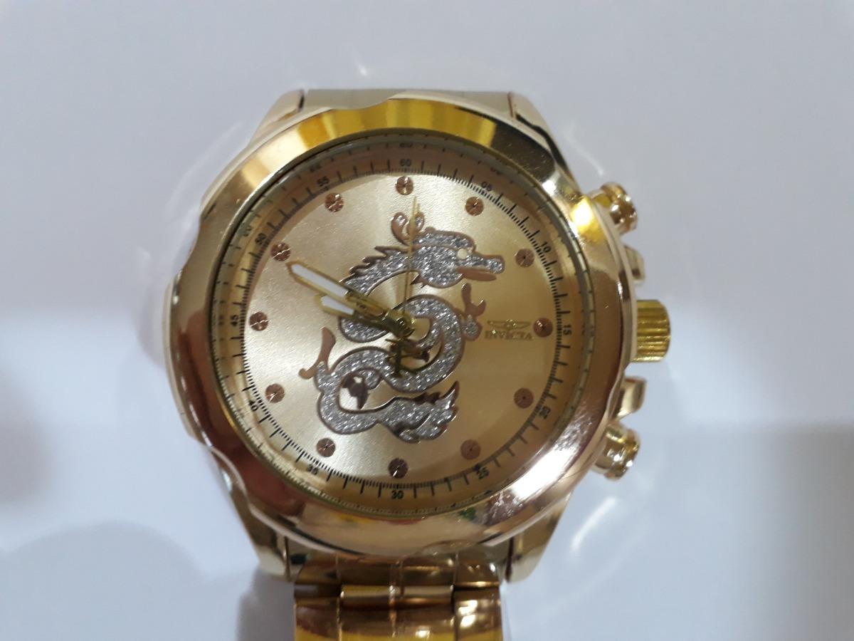 2e1d42a3acd relogio masculino analógico dourado aço marcas famosas lindo. Carregando  zoom.