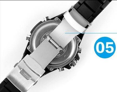 relógio masculino analógico e digital prova d'água original