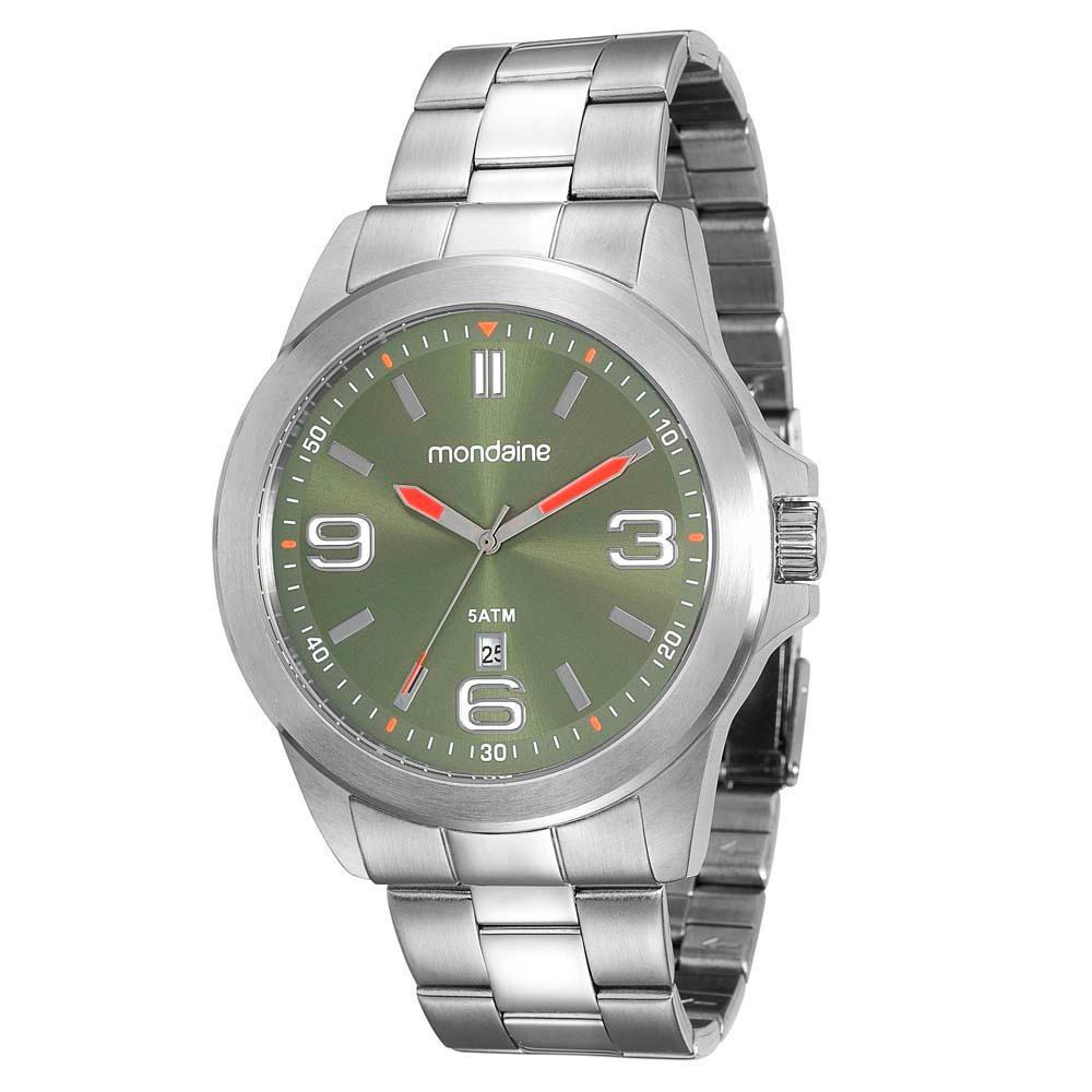 9e9d5e7fbee relógio masculino analógico mondaine 78697g0mvna1 - cromado. Carregando  zoom.