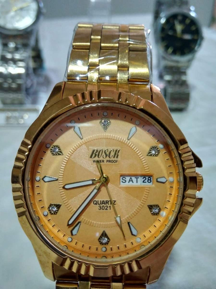 7dd673cdaa7 relógio masculino analógico prova d água luxo + brinde!!! Carregando zoom.