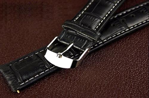 relogio masculino analogico quartzo pulseira preta ca1001