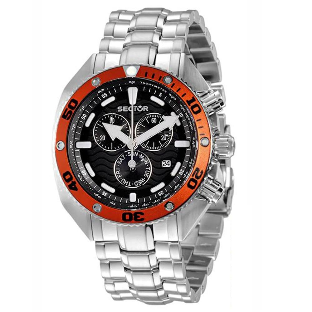 f177600571d48 relógio masculino analógico sector ws31893d - prata. Carregando zoom.