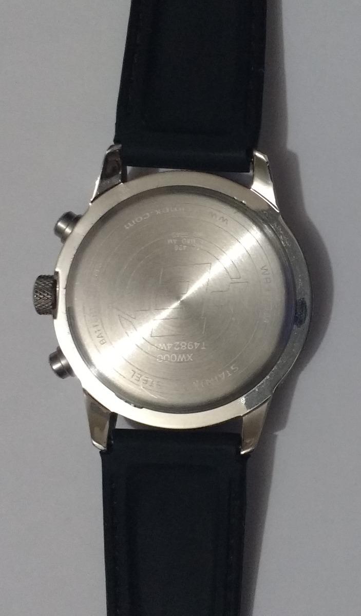 47f32dfe283 relógio masculino analógico timex t49824wkl. Carregando zoom.