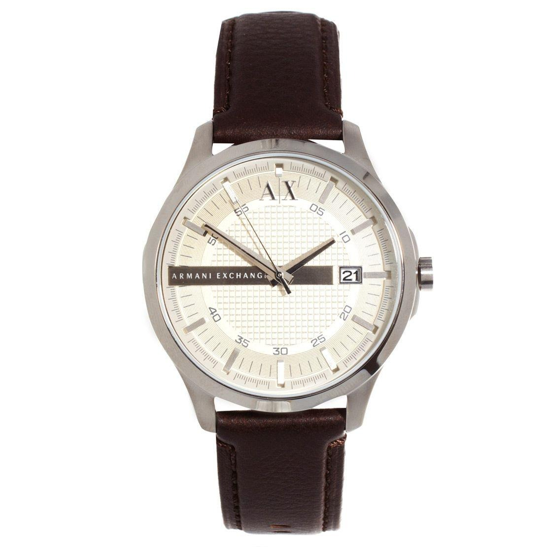 27d6b7d0ed2 Relógio Masculino Armani Exchange Ax2100 0kn Couro Marrom - R  577 ...