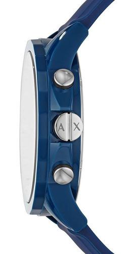 relógio masculino armani exchange azul ax7107/8an