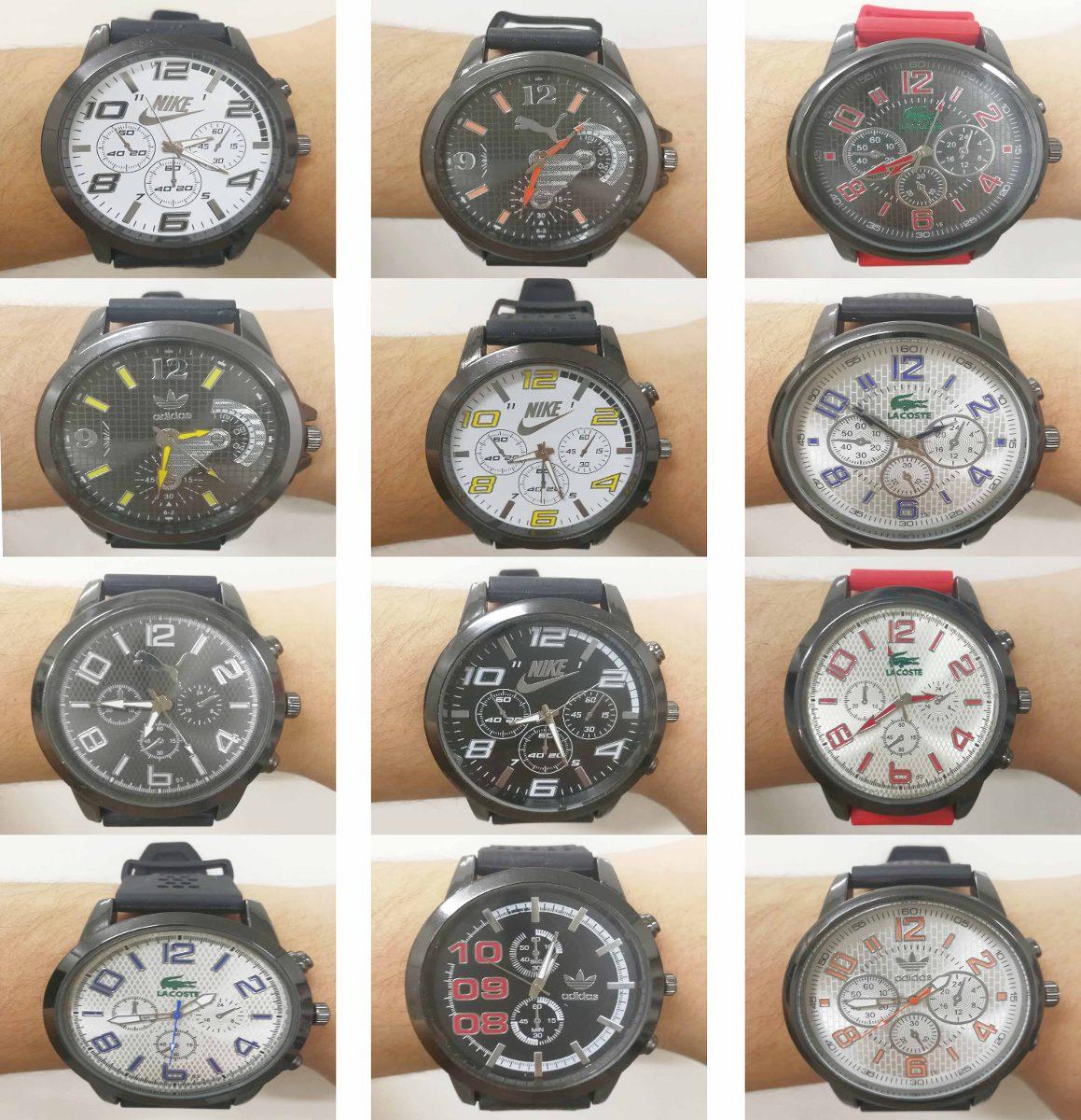 d608d35eb84 relógio masculino atacado kit10 marcas varias frete grátis. Carregando zoom.