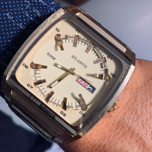 relógio masculino atlant