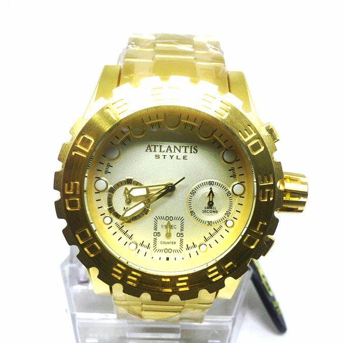 922bb506f0d Relógio Masculino Atlantis A3311 100% Funcional - R  280