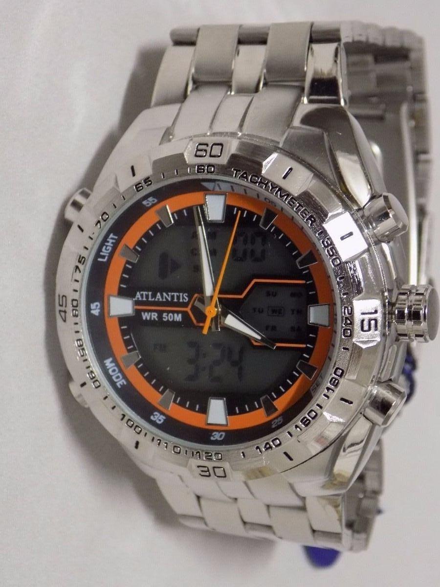 31b6dc8630f Relogio Masculino Atlantis Esportivo G3225!!!! - R  89
