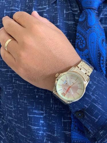 relógio masculino atlantis original luxo g3316