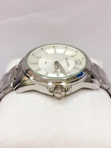 relógio masculino atlantis pulso