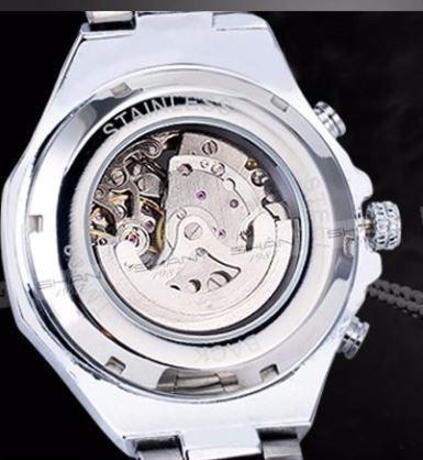 3793b025033 Relógio Masculino Automático Modelo Esqueleto Marca Winner - R  169 ...