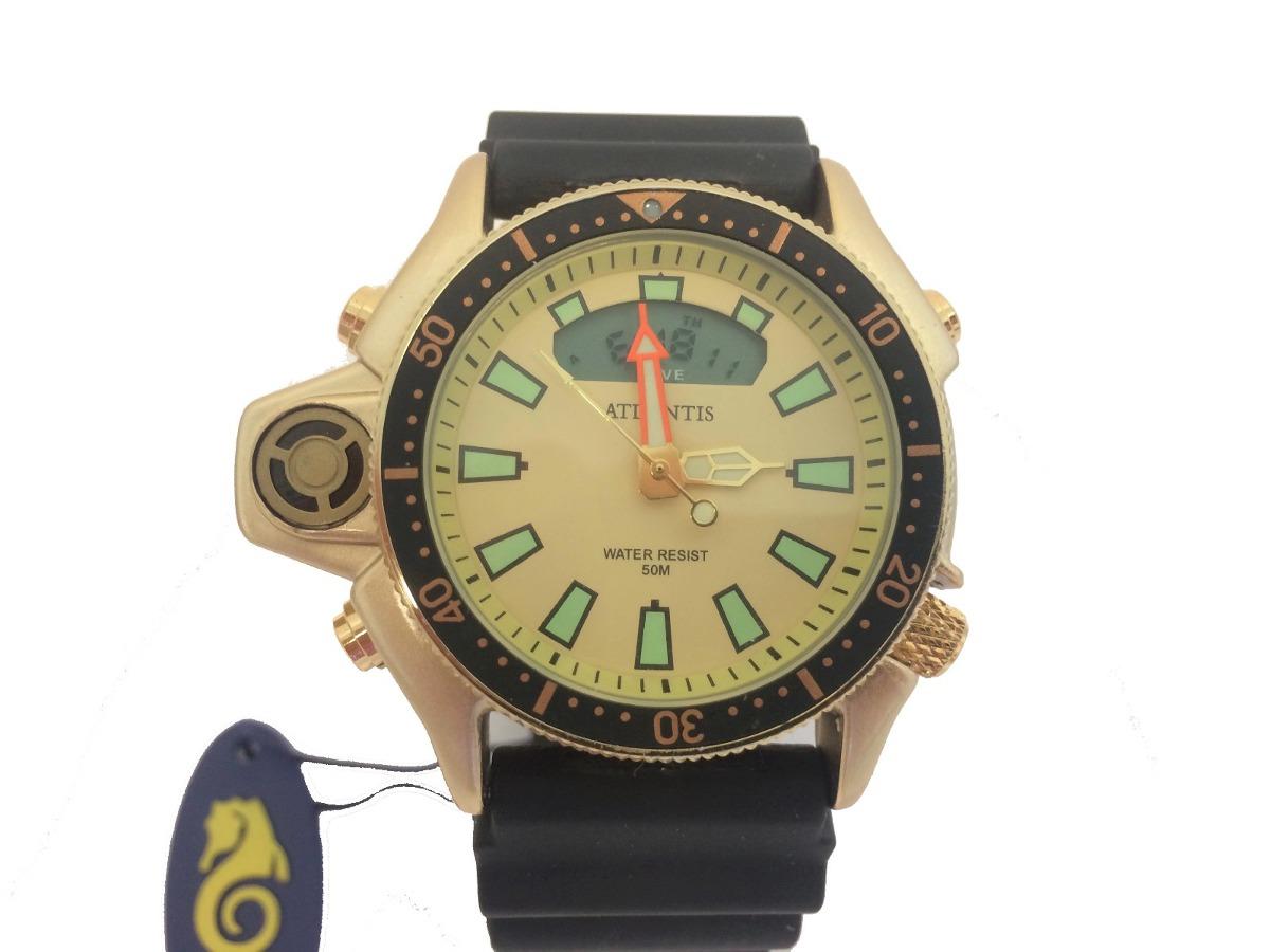 4cdfa67024c relogio masculino barato atlantis aqualand original g3220. Carregando zoom.