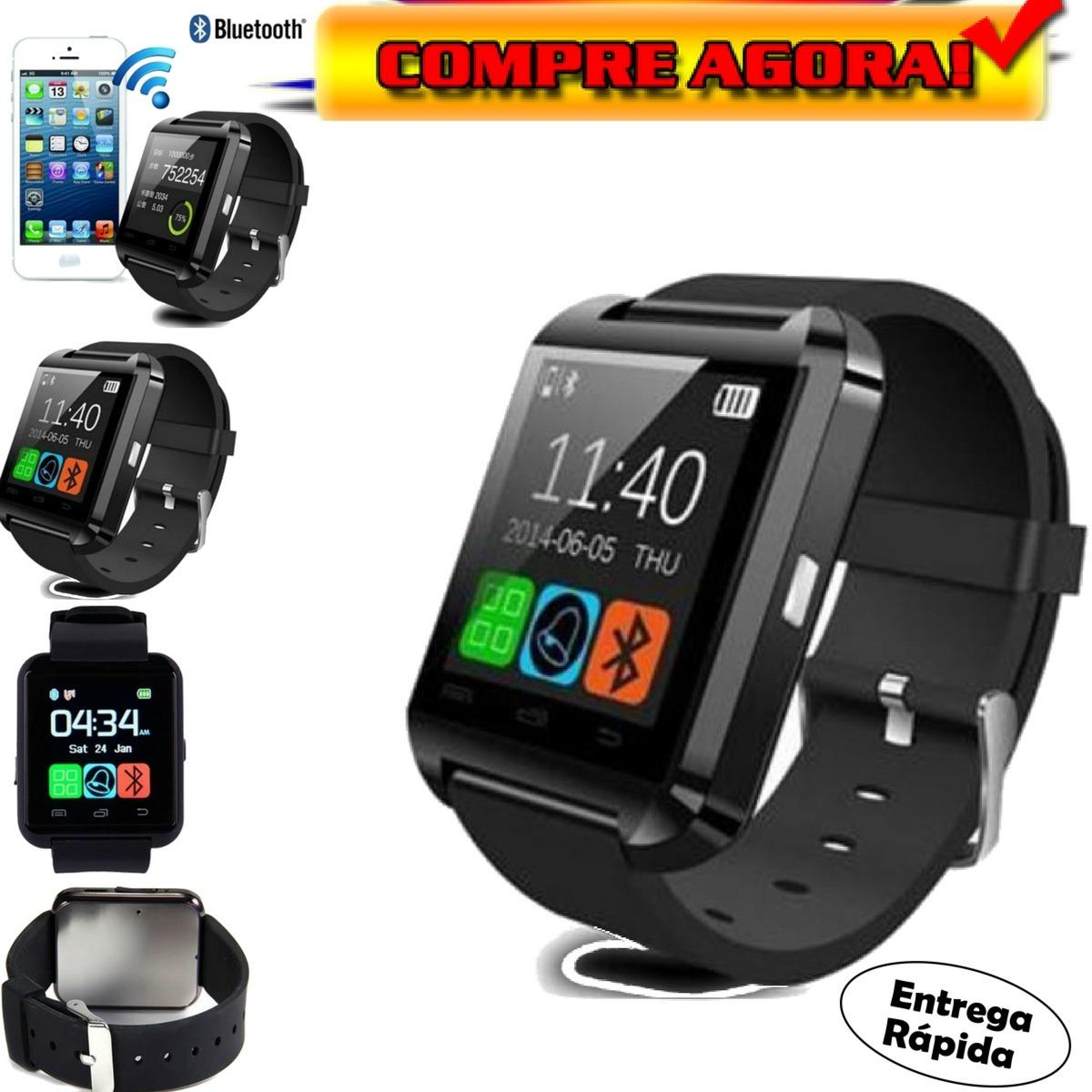 95901642b2a7c relógio masculino barato bluetooth android iphone- promoção. Carregando  zoom.