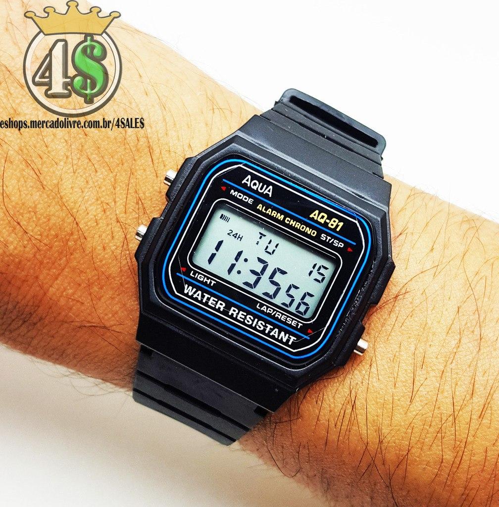 10349f70bc1 Relógio Masculino Barato Digital Aqua A Prova Dagua   Cassio - R  9 ...