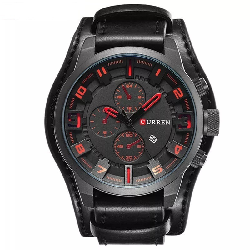2b493cd8d88 relógio masculino barato original curren 8225. Carregando zoom.