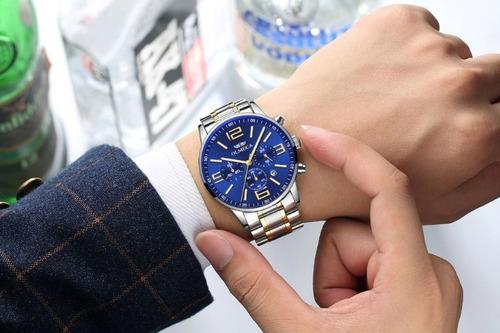 relógio masculino blindado anti risco 100% funcional