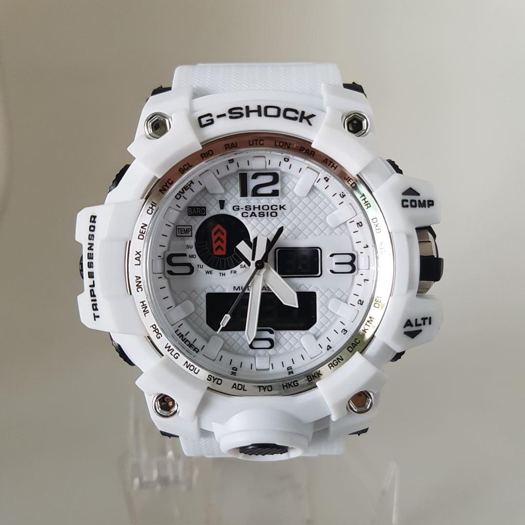 f0b511a2423 relógio masculino borracha analógico e digital antichoque. Carregando zoom.