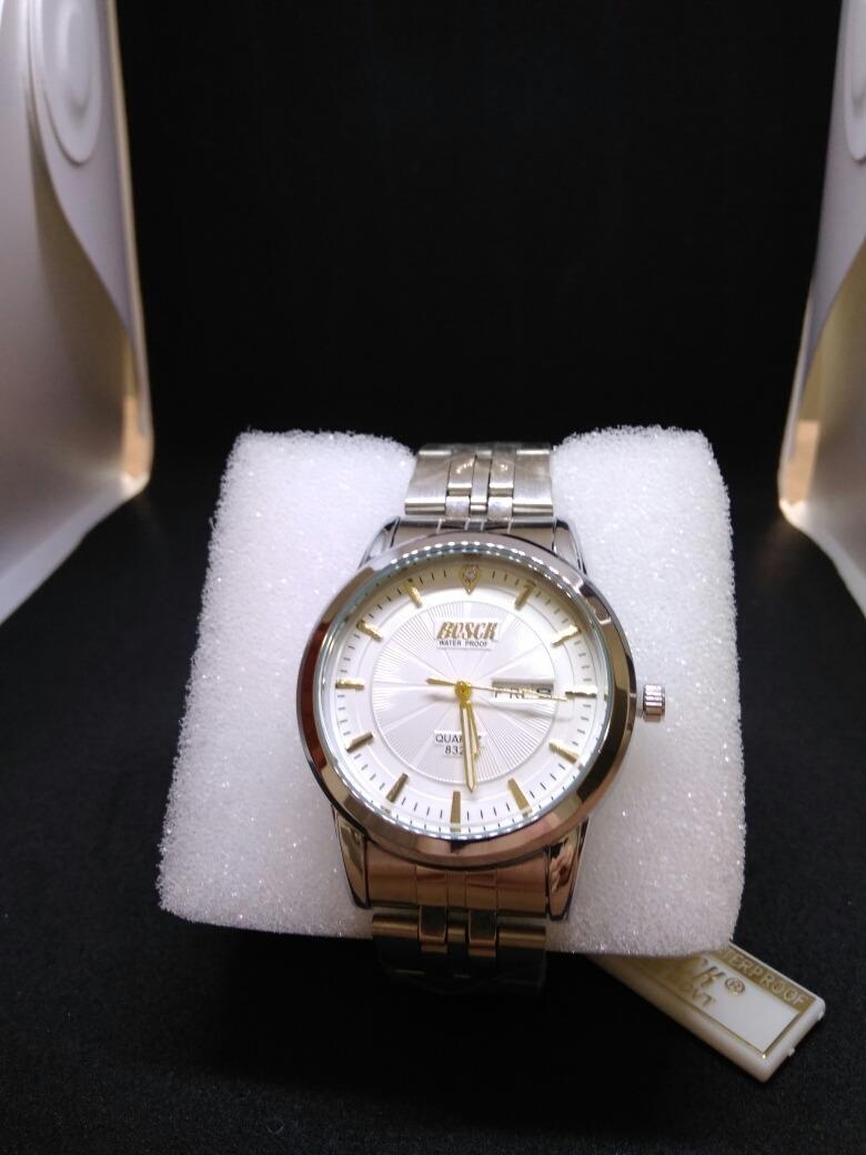 4d40008531e relógio masculino bosck aço inox prova d água + brinde! ! Carregando zoom.