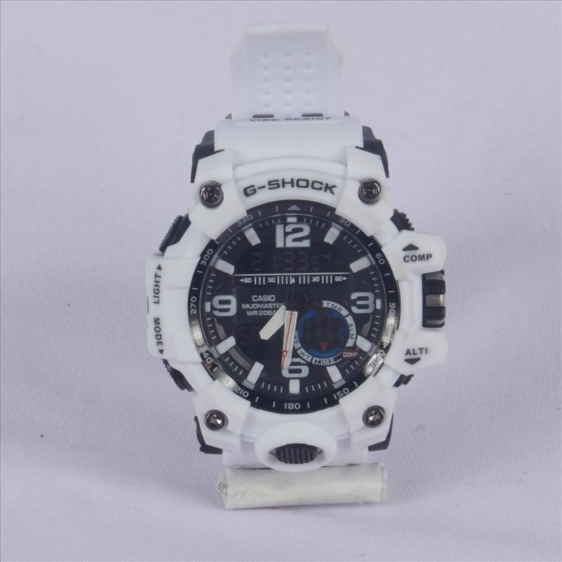 320e9d557d1 relogio masculino branco resistente a agua cronometro. Carregando zoom.