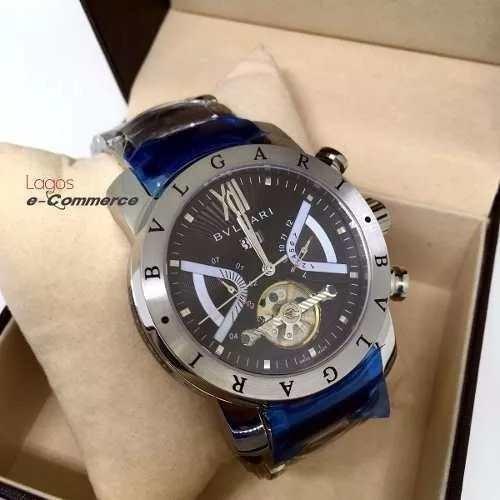 7c1943ac40c Relógio Masculino Bulgari Iron Man Aço Automático Original!! - R  339