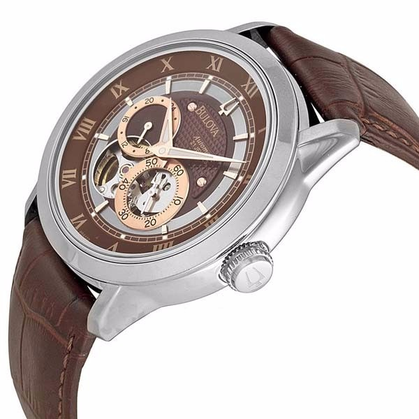 f1cacbe55fa Relógio Masculino Bulova Automatic - 96a120