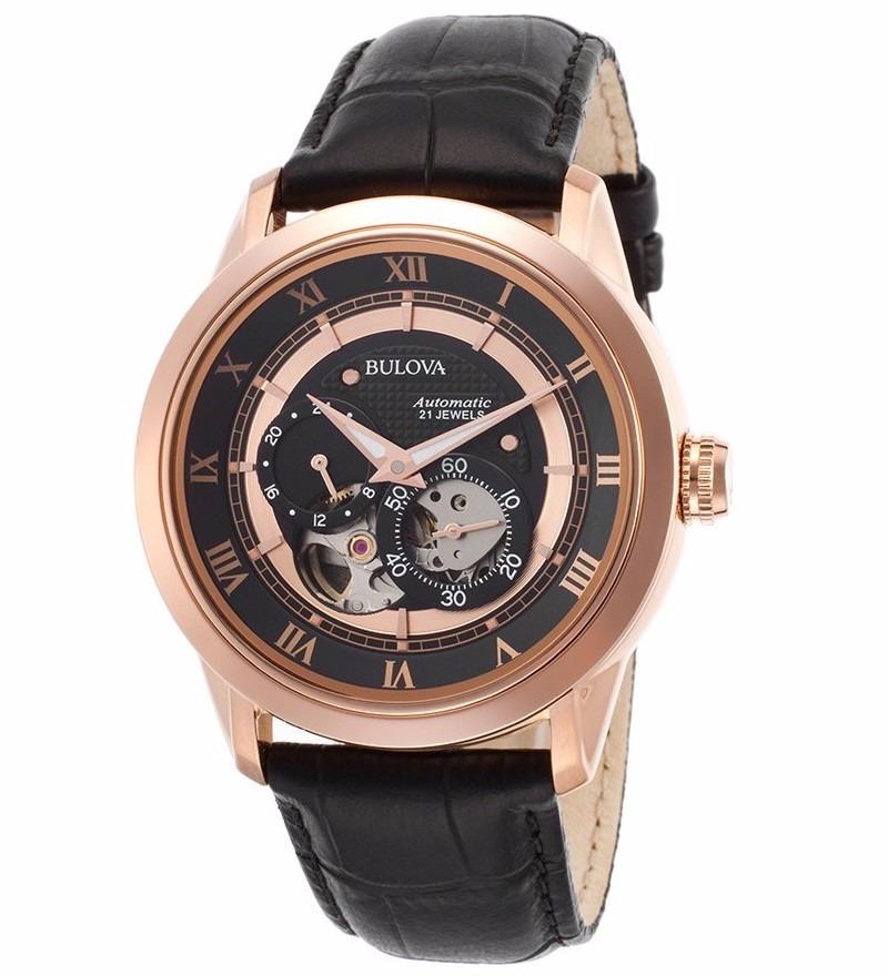 2f5c23c6f22 relógio masculino bulova automatic - 97a116. Carregando zoom.