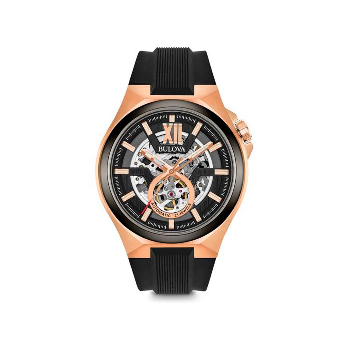 6fe0a17fe3a relógio masculino bulova classic automatic 98a177. Carregando zoom.